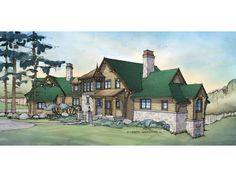 ePlans Country House Plan –5611 Square Feet and 6 Bedrooms from ePlans – House Plan Code HWEPL76017