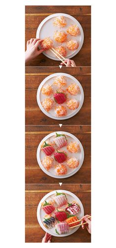 Orange, Sushi, Decorative Plates, Table Settings, Cooking, Breakfast, Food, Kitchen, Morning Coffee