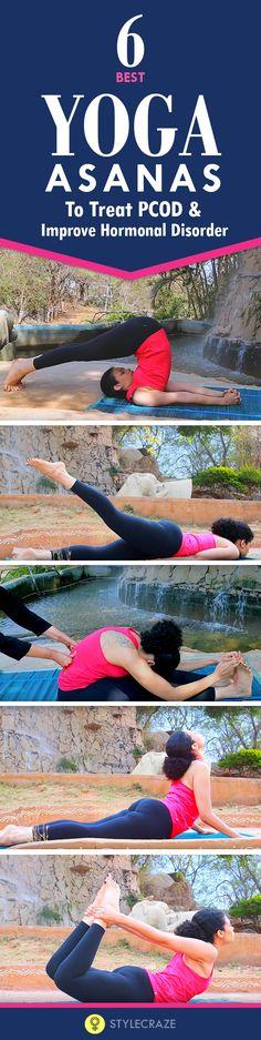 6 Effective Yoga Asanas For PCOD & Hormonal Imbalance - StylecrazeTV