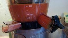 Succo di carota. (estrattore di succo vivo).