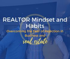 Realtor Mindset and Habits Overcoming the Fear of Rejection in Business and Real Estate real estate and business, rejection is common. To be a successful real estate agent, one needs to find strate… Real Estate Training, Real Estate School, How To Become Successful, Real Estate Tips, Mindset, How To Get, Social Media, Teaching, Business