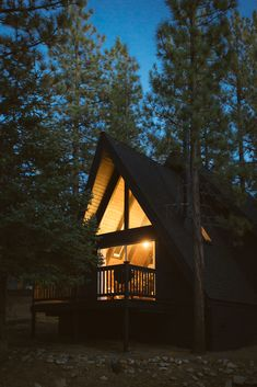 Big Bear A-Frame Receives Boho Eclectic Transformation. Modern Home… on Dwell