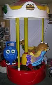 McDonald's playground carousel