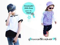 Shirt Little Roxy Nähanleitung und Schnittmuster Gr. 62 - 176 - Nähanleitungen bei Makerist