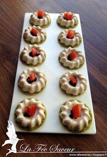 La Fée Saveur....: Pannacotta de thon sur biscuit aneth/estragon