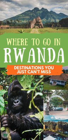Planning a trip to Rwanda and wondering where to go and what to do? Check out our favorite destinations in Rwanda that include Kigali, volcanoes national park, lake Kivu and more.