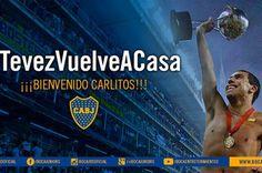 El anuncio oficial: Boca confirmó el regreso de Carlos Tevez - Boca Juniors - canchallena.com. june 26, 2015.