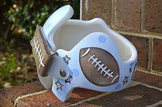 Helmet decor on pinterest helmets baby helmet and band for Baby cranial helmet decoration