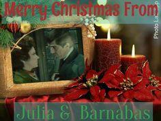 Christmas Barnabas and Julia