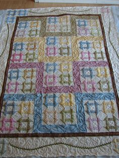 Making a quilt like this with Moda Wil and Lil fabrics.