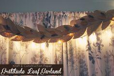 Gratitude Leaf Garland via Sophistishe.com