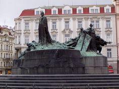 Sousoší Mistra Jana Husa Czech Republic, Statue Of Liberty, Statue Of Liberty Facts, Statue Of Libery, Bohemia