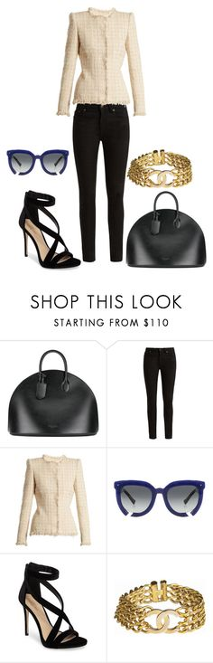"""""""The classics"""" by phatjuli ❤ liked on Polyvore featuring Calvin Klein 205W39NYC, Yves Saint Laurent, Alexander McQueen, Grey Ant, Imagine by Vince Camuto and Chanel"""