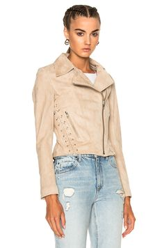 Image 2 of A.L.C. Syd Jacket in Nude