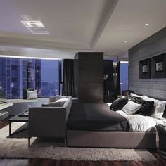 A Luxurious And Ultra Modern Penthouse Suiteu0027s Master Bedroom. Tag Someone  That Would Want A Bedroom Like This... Goals!