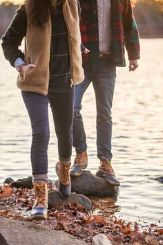 Classy Girls Wear Pearls - Last Day of Autumn // Bean Boots