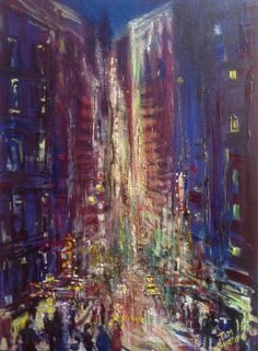 Semi abstract cityscape, acrylic on stretched canvas. Tim Burton, Cityscape, Painter, Illustration, Canvas, Painting, Art, Abstract