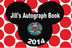 Disney Autograph Book personalized photo Character by maeNjack, $10.00