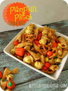 holiday snack mix recipes