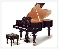 """The """"Johann Strauss"""" model is based on the design of the instrument that Strauss himself commissioned Bosendorfer to build for him."""