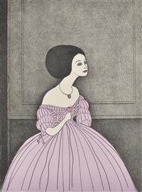 JOHN BRACK (1920-1999) La Traviata 1981 colour lithograph edition 56/150