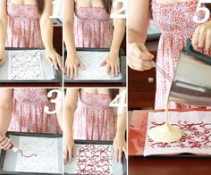 How to decorate a cake layer