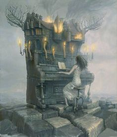 Surrealism. I really love this art! ♥