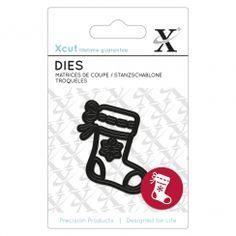 X-cut Mini Die (1pc)- Stocking