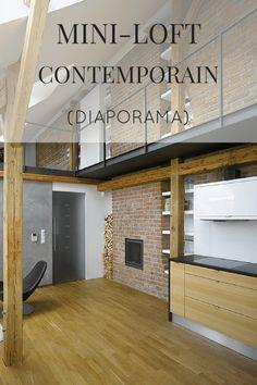 Visite privée d'un mini-loft contemporain à Prague