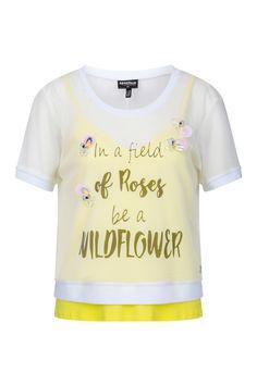 Yellow Daisies, Yellow T Shirt, Shirts, Tops, Women, Fashion, Moda, Fashion Styles, Dress Shirts
