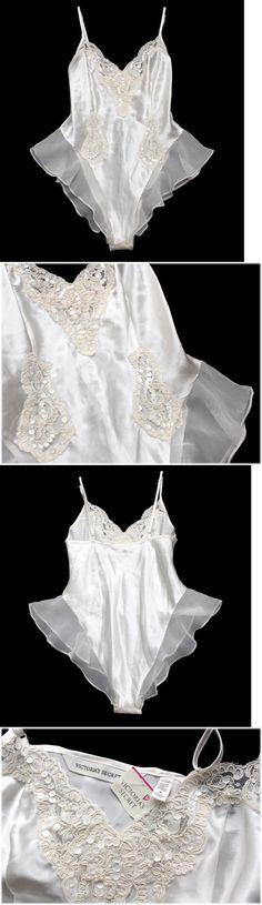 Sexy Teddies: Victorias Secret White Teddy Womens M Nwt Wedding Honeymoon Lace Bridal Lingerie -> BUY IT NOW ONLY: $36.99 on eBay!