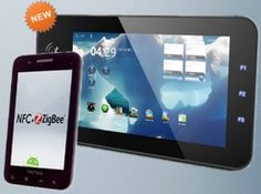 TazTag TazPad V2, the first Andorid ICS tablet with SecuRead NFC module and ZigBee compatibility