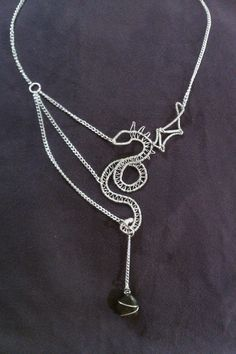 Morganause's Dragon   JewelryLessons.com