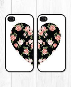 Besties Black Coral iPhone 5 Case iPhone 5s Case