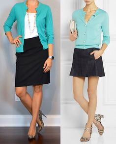 outfit post: teal cardigan, black pencil skirt, snakeskin pumps http://outfitposts.com/2016/05/outfit-post-teal-cardigan-black-pencil-skirt-snakeskin-pumps.html?utm_campaign=coschedule&utm_source=pinterest&utm_medium=Outfit%20Posts&utm_content=outfit%20post%3A%20teal%20cardigan%2C%20black%20pencil%20skirt%2C%20snakeskin%20pumps
