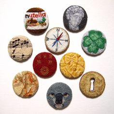 project - ipnot Hand Embroidery, Embroidery Ideas, Punch Tool, Punch Needle, Textiles, Rug Ideas, Creative, Instagram Posts, Projects