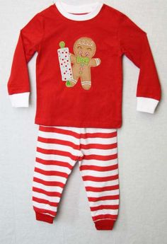 292645  Christmas Pajamas for Children  Personalized by ZuliKids