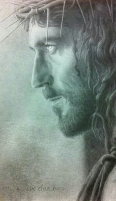 This is the most spiritually beautiful picture of Jesus I've ever seen. God and Jesus Christ Pictures Of Jesus Christ, Religious Pictures, Religious Art, Pictures Of God, Heaven Pictures, Jesus Christ Quotes, Religion Catolica, Jesus Art, Jesus Christ Drawing