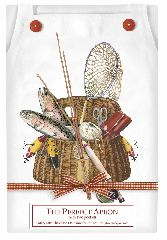 Mary Lake Thompson Fishing Creel Apron