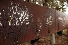 Perth Home laser cut metal screens panels fences wa Design Ideas, Pictures, Remodel and Decor