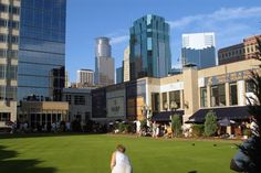 Brit's Pub - Minneapolis. Lawn bowling on the roof top.  So much fun!