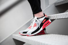 Nike - WMNS Air Max 90 Flyknit Ultra 2.0 Infrared - 881109-100