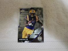 2014 UD CONFERENCE GREATS  ALFRED BLUE # 124 ( FOIL ) #LSU