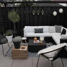The Happiness of Having Yard Patios – Outdoor Patio Decor Patio Garden Ideas On A Budget, Diy Patio, Backyard Patio, Patio Ideas, Backyard Ideas, Patio Wall, Balcony Ideas, Pergola Ideas, Landscaping Ideas