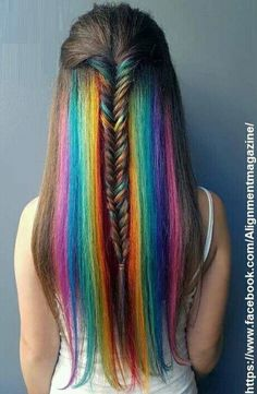 Quiero tener así mi cabellooo!!!
