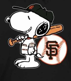 SF Giants House Of David, San Francisco Giants Baseball, Fence Art, National League, Peanuts Snoopy, Diamond Are A Girls Best Friend, Cute Art, Mlb, Fictional Characters