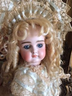 Rare Antique kestner Xi Most Magnificent Face! Gorgeous Example. German Doll