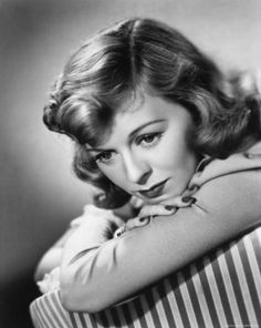 Margaret Sullavan, 1930's (1909-1960). American stage and film actress.