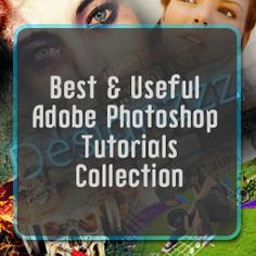 20 Supremely Creative Tutorials of Photoshop -- all kinds of goodies on this site: designzzz.com