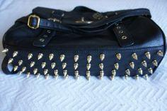 DIY studded purse